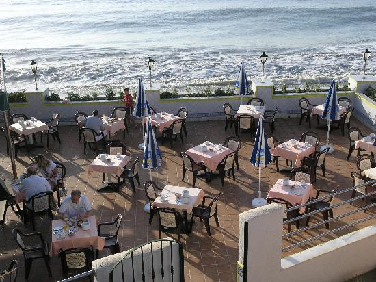 Vera Playa Club Hotel: Restaurant terrace