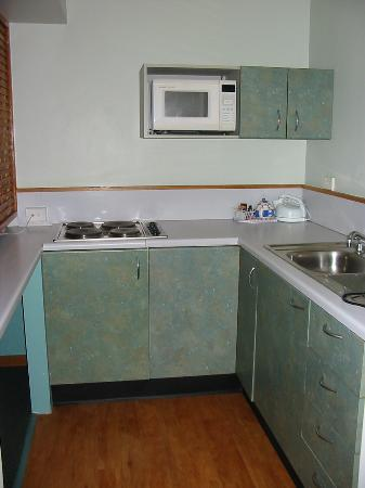 Spring Hill Terraces Motel and Apartments: Kitchen