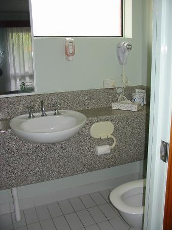 Spring Hill Terraces Motel and Apartments: Bathroom