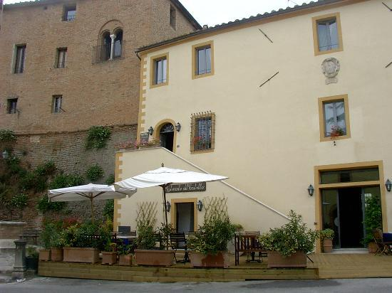 La Locanda del Castello: The front of the hotel.