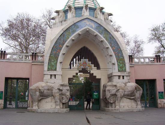 Budapest Zoo & Botanical Garden: Zoo Entrance
