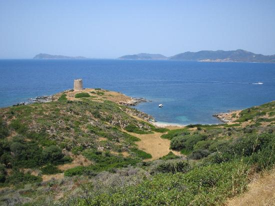 Санта-Маргарита-ди-Пула, Италия: Great beaches and headlands