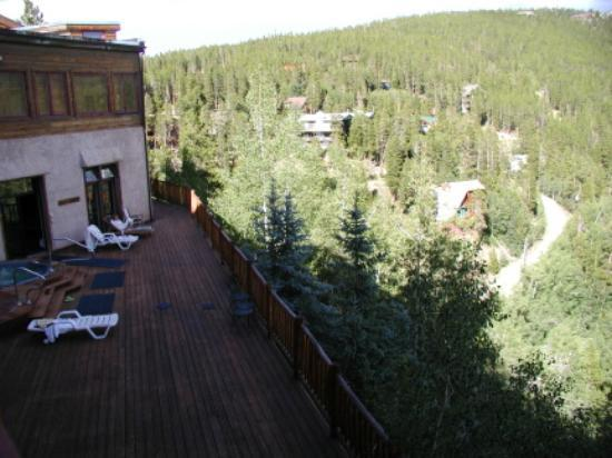 The Lodge at Breckenridge: Hot tub and Pool Deck