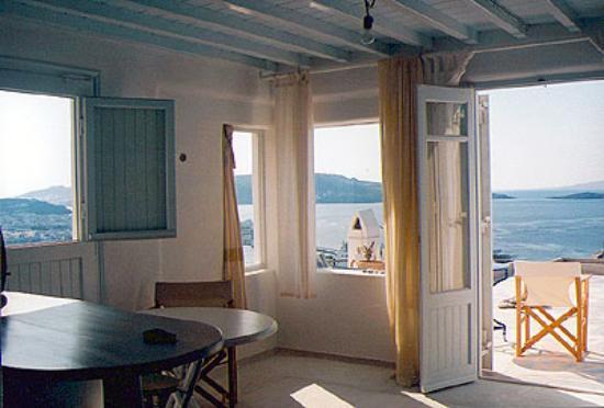 Marina View: Panoramic view of Mykonos town