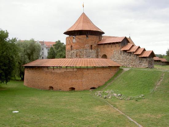 Kaunas castle (14C)