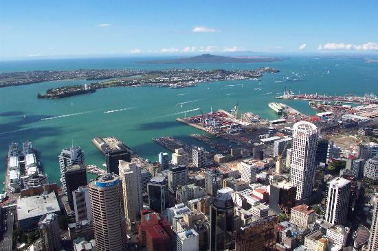 "Auckland Central, New Zealand: Aucklands last volcano ""Rangitoto island"