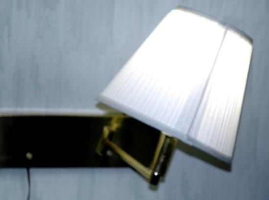Howard Johnson Inn - Albany: lamp sparked when I tried to straighten