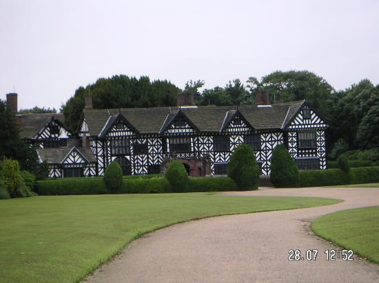 Speke Hall: A view from the grounds