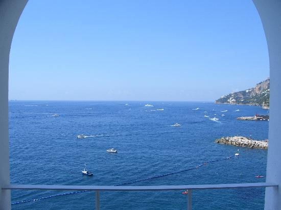 Hotel Marina Riviera: View from our bedroom terrace