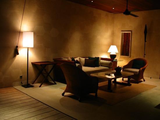Four Seasons Resort Bali at Sayan: Villa outdoor seating area