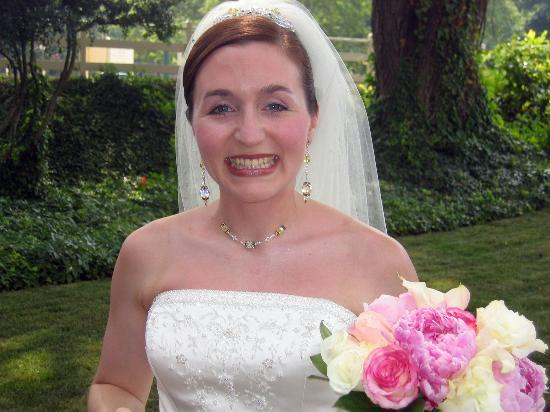 Cedars of Williamsburg Bed and Breakfast: Our Beautiful Bride