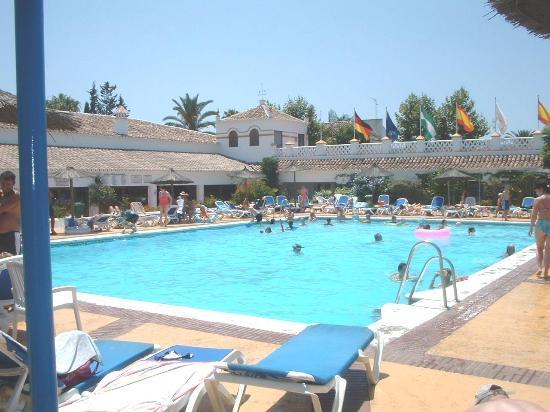 Globales Cortijo Blanco Hotel: Cortijo Blanco - One of three pools/Complex