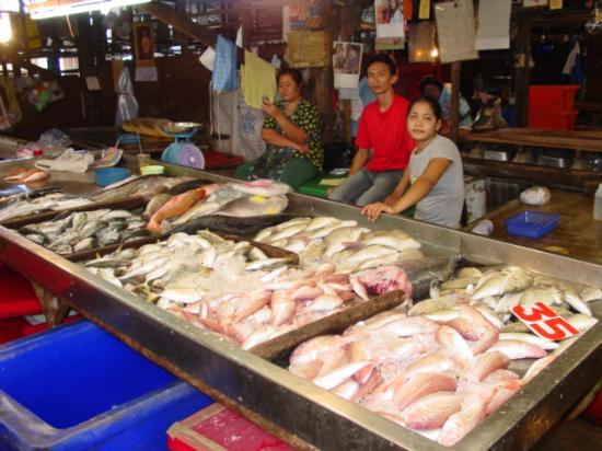 Local market in Phuket Town.