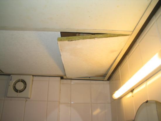 Center Hotel Amsterdam: Bathroom ceiling...