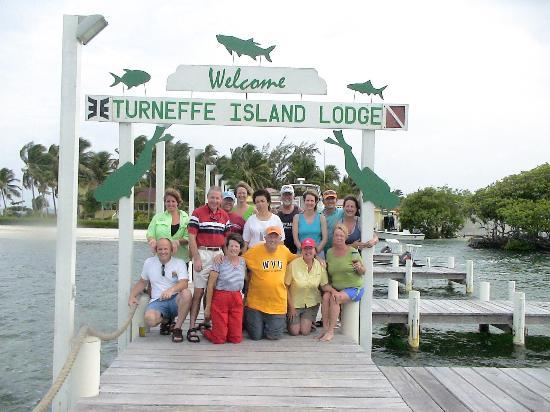 Turneffe Island Resort: Our dive group, sorry to be leaving