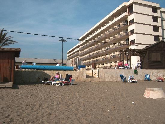 VIK Gran Hotel Costa del Sol: View of Hotel from beach