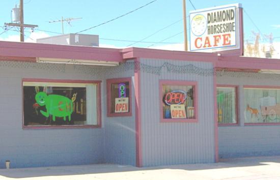 Diamond Horseshoe Restaurant Café 404 Central Ave Cheyenne Wy