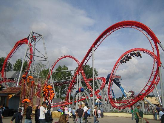 Drayton Manor Park: The new ride G-force - awesome!