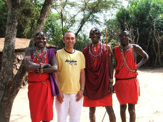 Sarova Mara Game Camp: The Masai