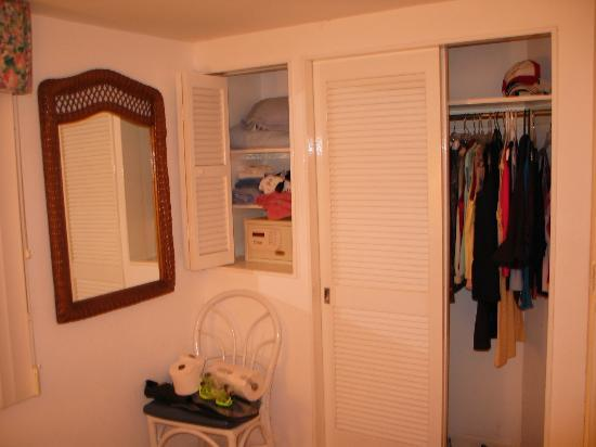 Master Bedroom Closet And Safe Another Closet Upstairs