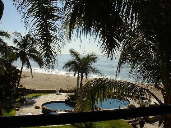 Mira Vista Condominiums: view from balcony