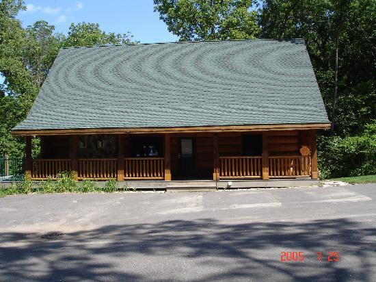 Outside Of Cabin Picture Of Wilderness Resort Wisconsin