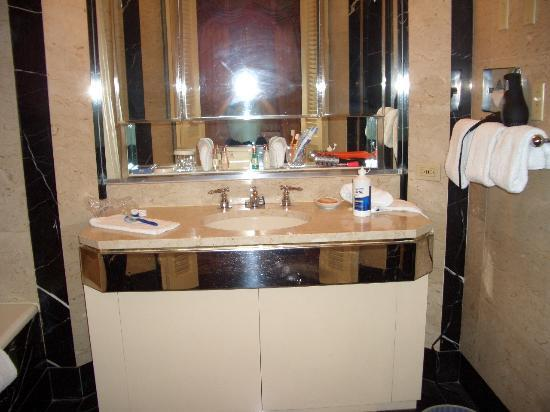 Bathroom Sinks New York City bathroom sink - picture of waldorf astoria new york, new york city