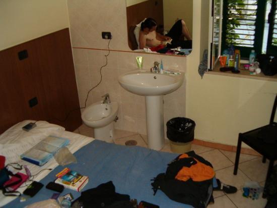 Hotel Casanova: our room