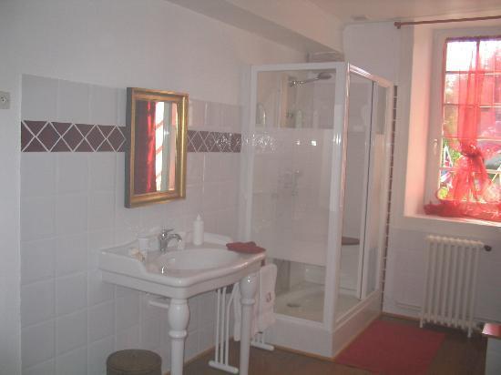 Le Manoir de Juganville : The bathroom