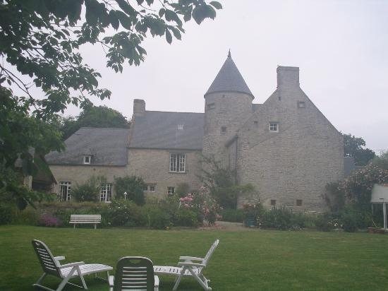 """Le Manoir de Juganville : The """"Manoir"""" from the garden"""