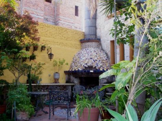 Casa de Las Flores: the garden