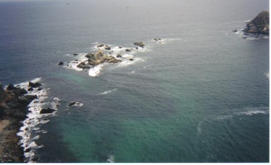 Holiday Inn Resort Ixtapa : view of the ocean from parasailing!