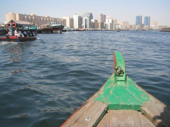 Dubai Creek: View from our boat