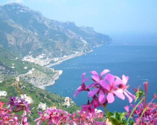 Ravello, Italy: View from Villa Rufolo