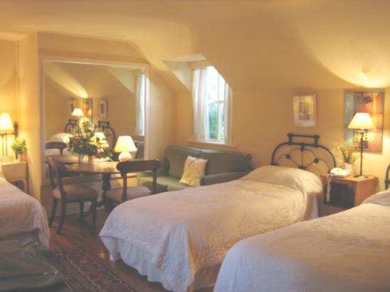 Shelburne Lodge: The twin room