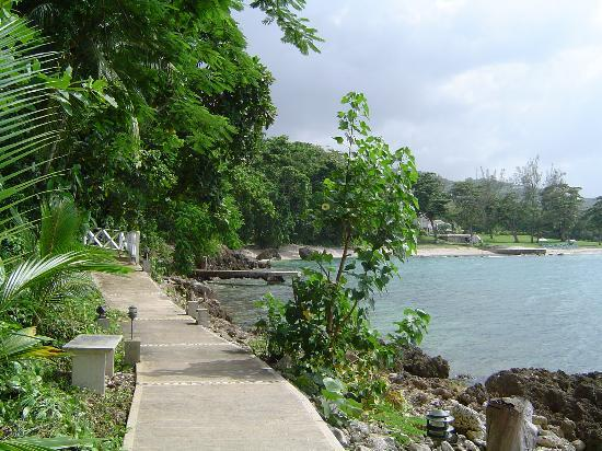 Hopewell, Jamaïque : Path to the spa