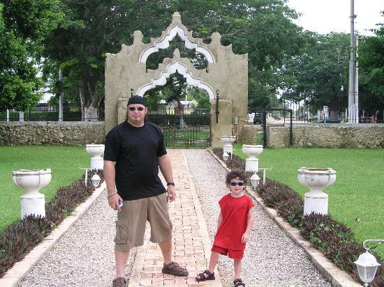 Hacienda San Pedro Nohpat: courtyard