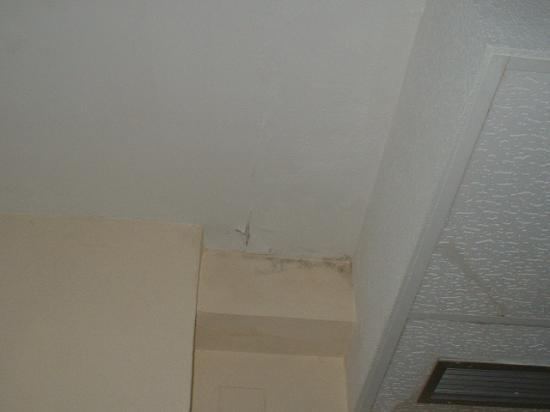 Port Fiesta Park: Damp, state of single room 4th floor