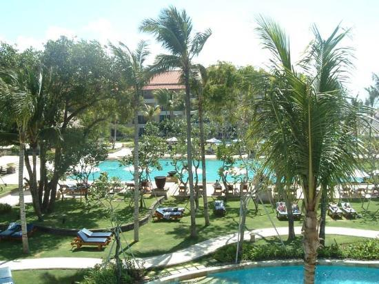Conrad Bali: Another view from our balcony
