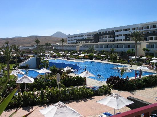 Hotel Costa Calero: Top pool area