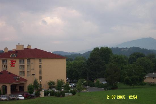Holiday Inn Express Pigeon Forge/Dollywood: Room with a view