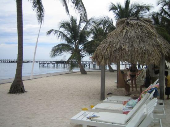 Ramon's Village Resort : beachside, in front of cabanas
