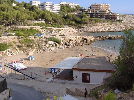 Font de Mar: Beach at Cap Salou