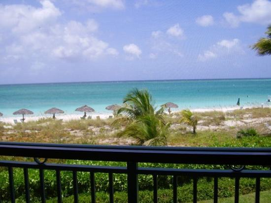 The Sands at Grace Bay: A view from oceanfront balcony