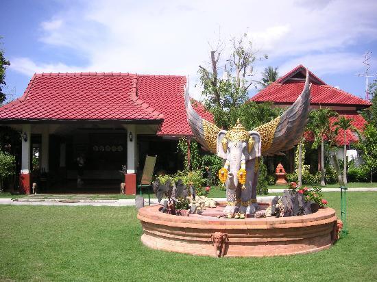 كارينثيب فيليدج: Karithip Village entrance
