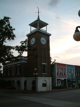 Georgetown town clock