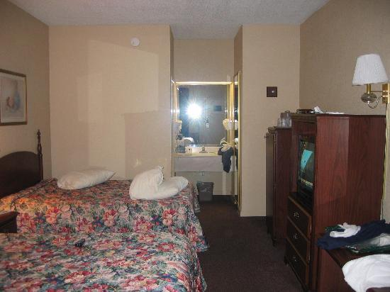 Econo Lodge: Actual room area