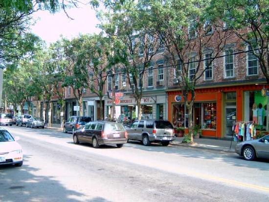 East Market Street in Rhinebeck