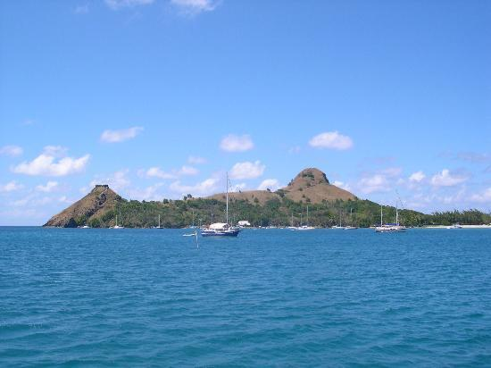Rodney Bay: Pigeon Island on the north... next to..