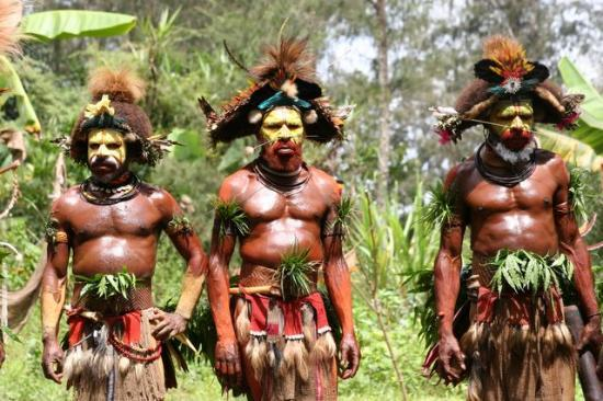 Tari, Papua New Guinea: one of the reasons visiting ambua lodge